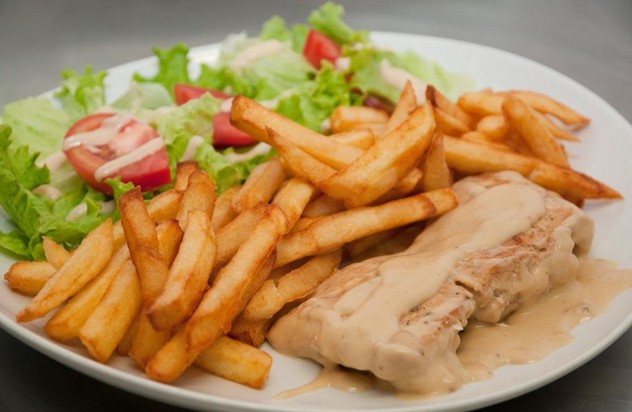 Steak frites search results dunia photo for Au jardin des gourmets